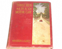 Three Men in a Motor Car (Scarritt 1906)